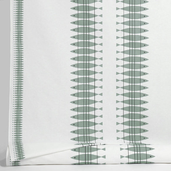 Fabric SILL green gray