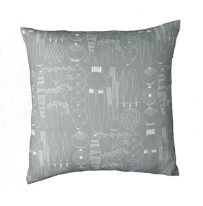 Cushion cover PICKNICK green gray