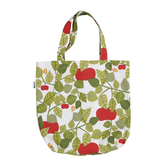 Shopping bag APPLE green