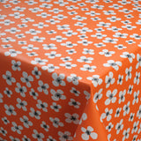 Acrylic fabric BELLE AMIE orange