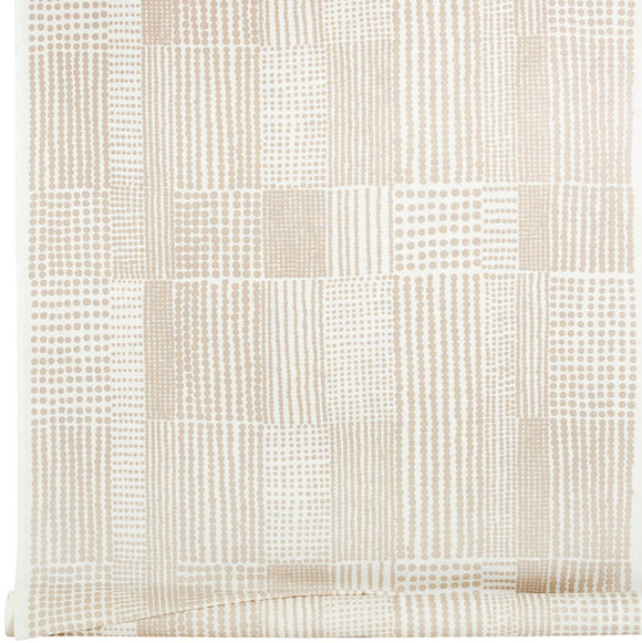 Acrylic coated fabric PRICKTYG beige