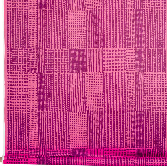 Acrylic coated fabric PRICKTYG pink