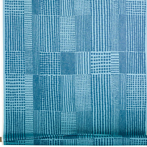 Acrylic coated fabric PRICKTYG blue