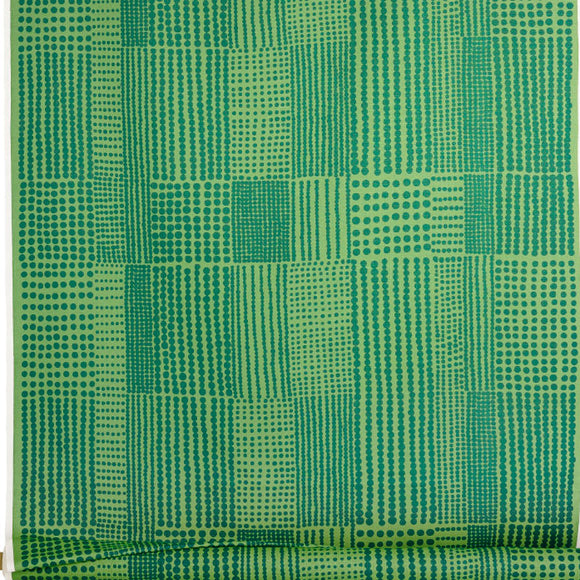 Acrylic coated fabric PRICKTYG green