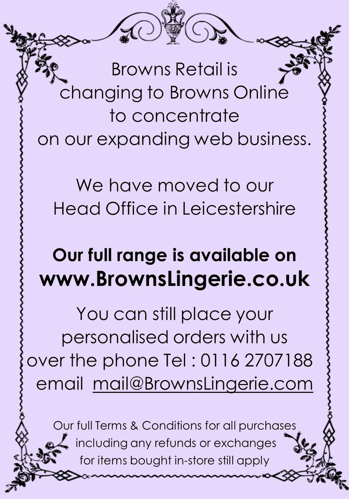 Browns Lingerie & Swimwear Boutique Leicester