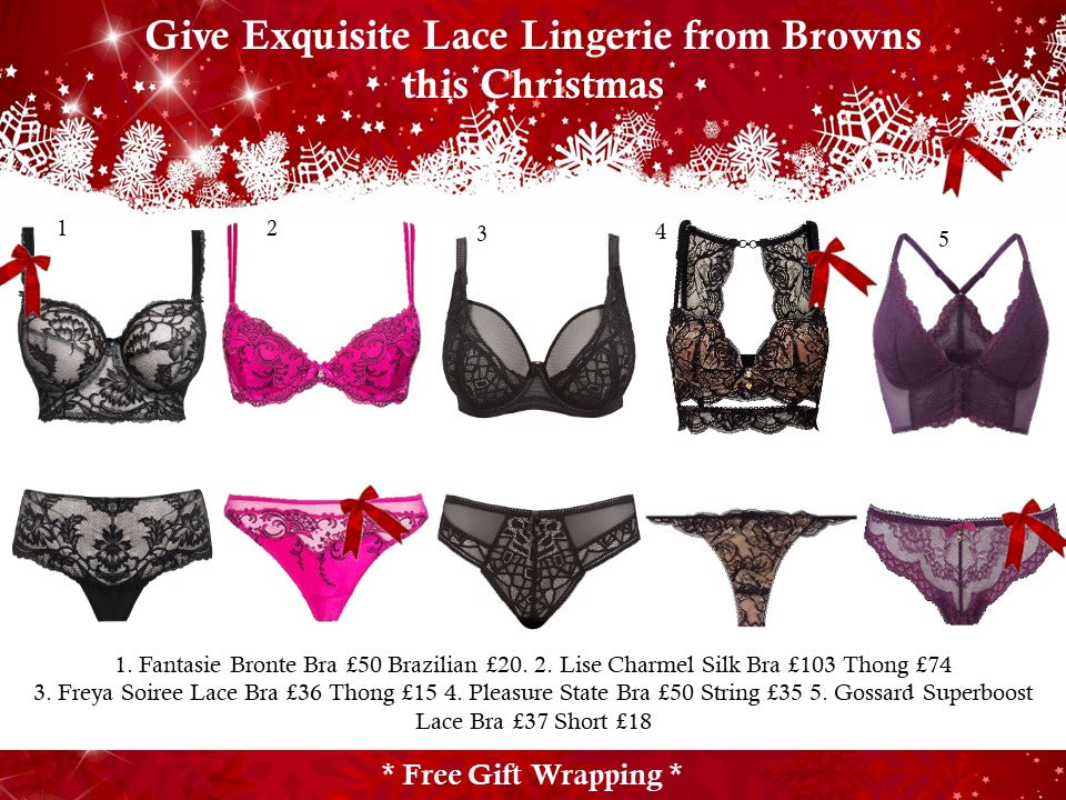 bb688a2167 Or Choose an Exquisite Lingerie Set for that Special Someone .