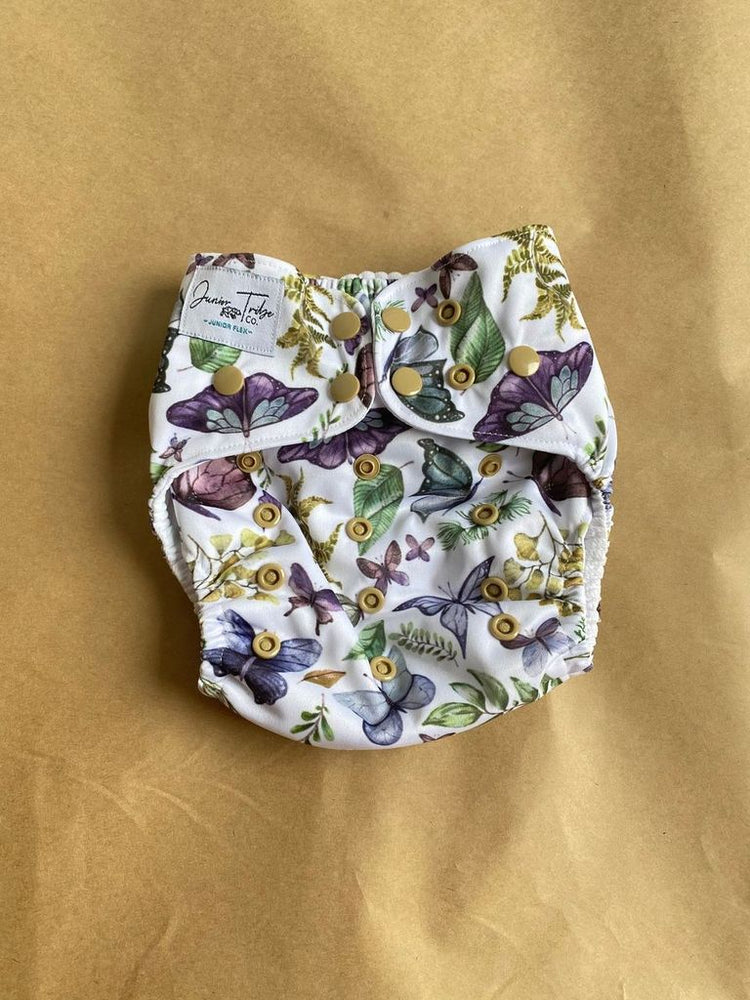 *FACTORY SECONDS* Flutterfly Flex Nappy (shell Only) (leg elastic)