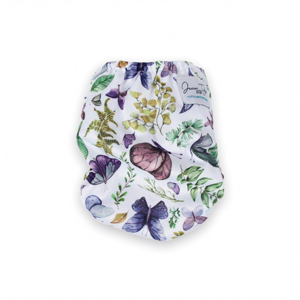 Flutterfly Newborn Nappy - Junior Tribe Co