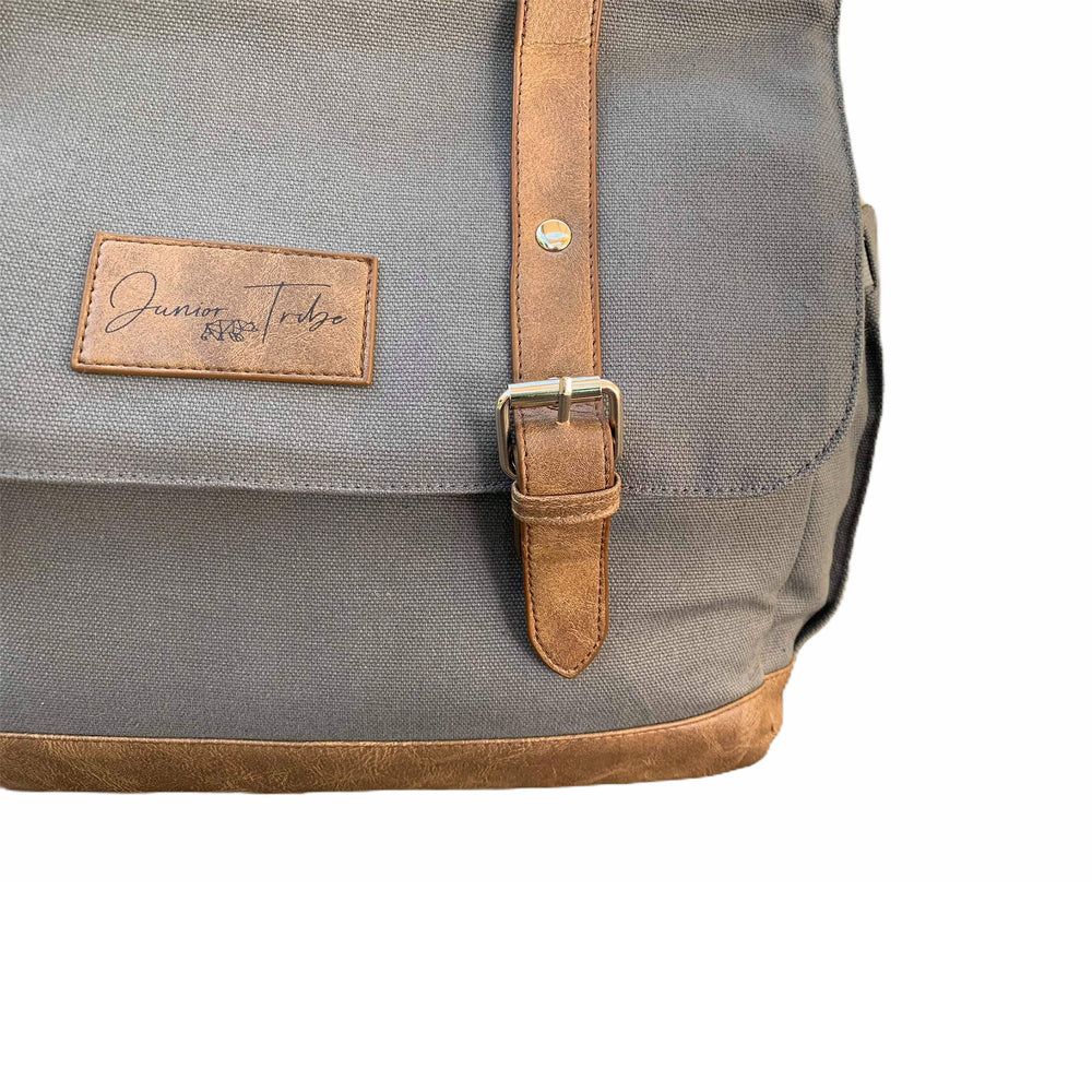 *FACTORY SECONDS* Slate Grey Nappy Backpack