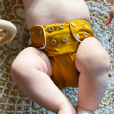 Mustard Junior Flex Cloth Nappy - Bottoms Up Junior