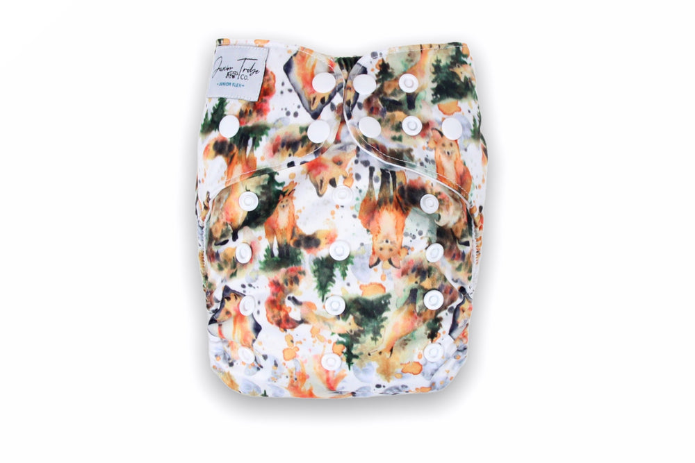 *FACTORY SECONDS* Wandering Fox Junior Flex Nappy (shell Only)