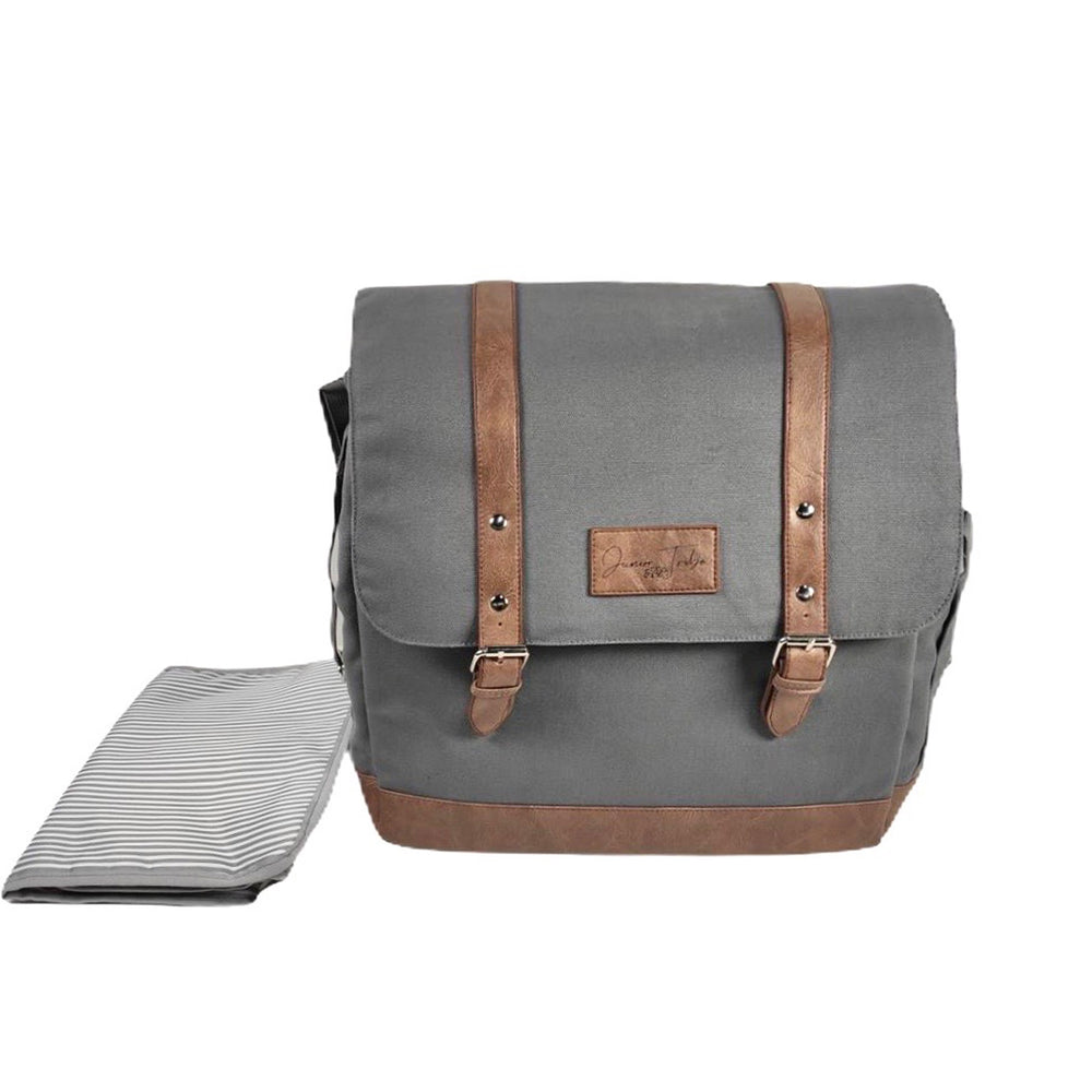 Slate Grey Nappy Backpack