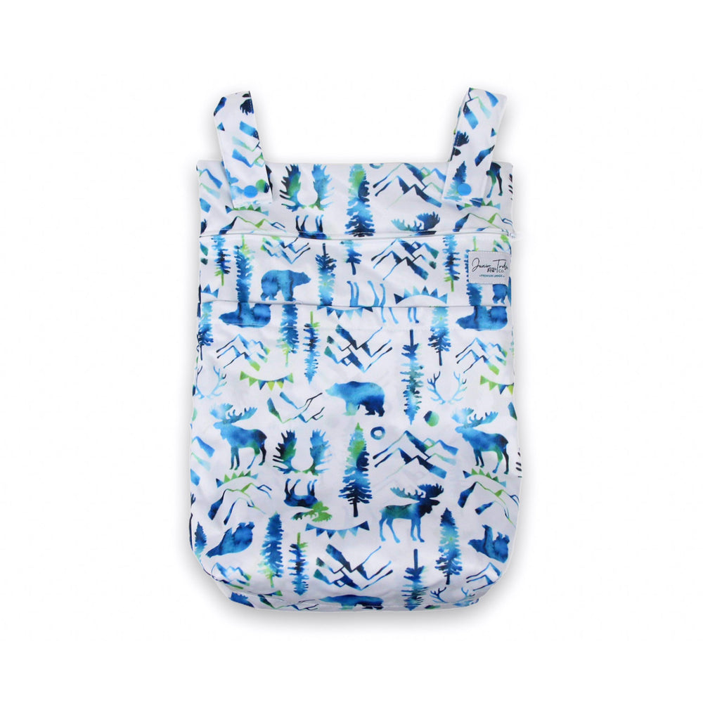 Wild Blue Large Wet Bag