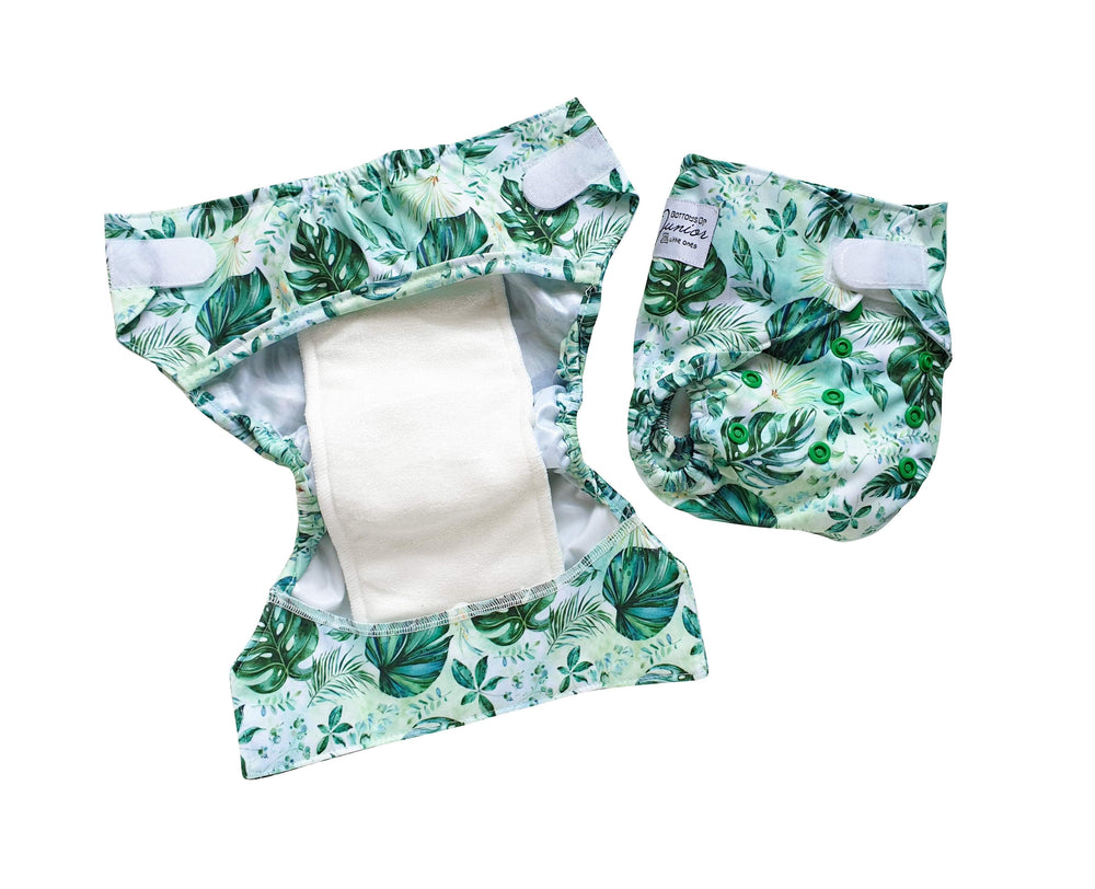Arctic Bloom Newborn Nappy - Bottoms Up Junior