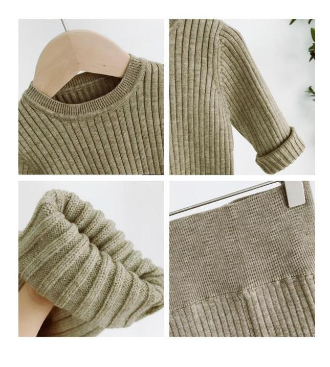 Knitted Sweater Set