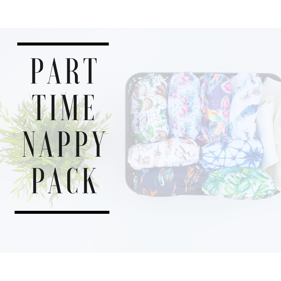Part Time Cloth Nappy Pack