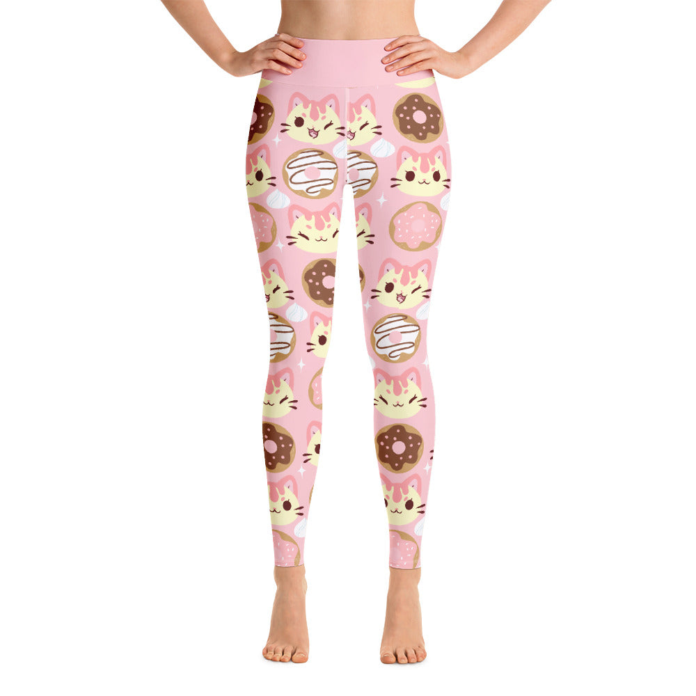 Drizzle's Donuts Leggings