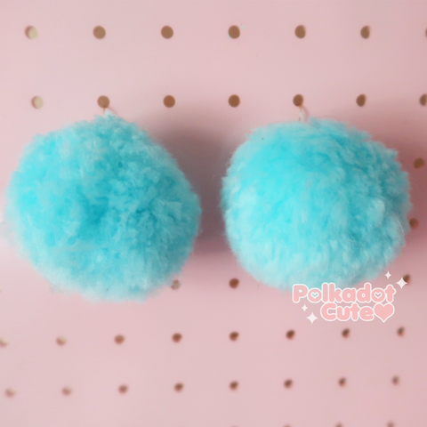 Tsuki Pom Pom Earrings