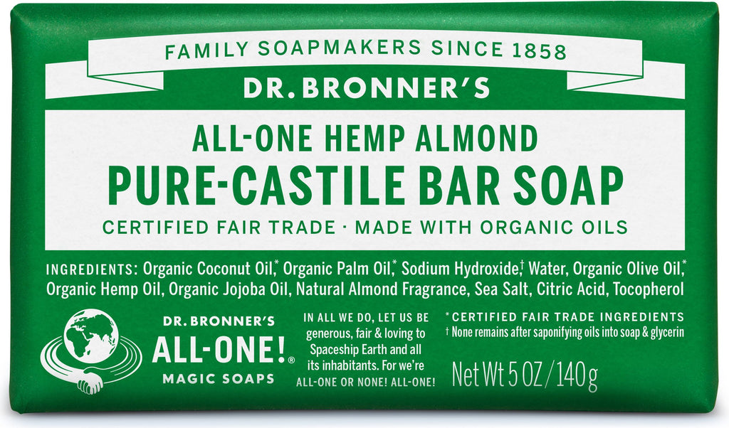 Dr. Bronner's Pure-Castile Bar Soap