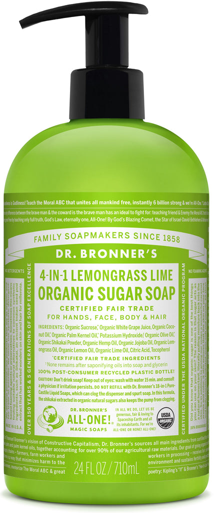 Dr Bronner's Sugar Soap