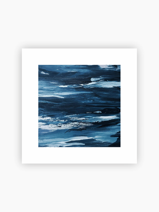 Abstract Painting Poster
