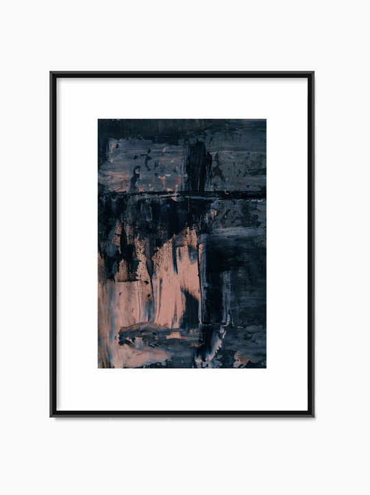 Abstract Painting Print