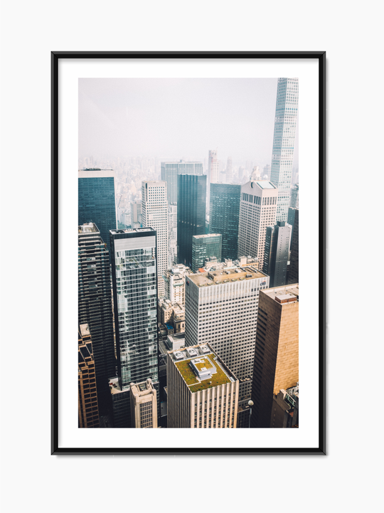 Skyscrapers Poster