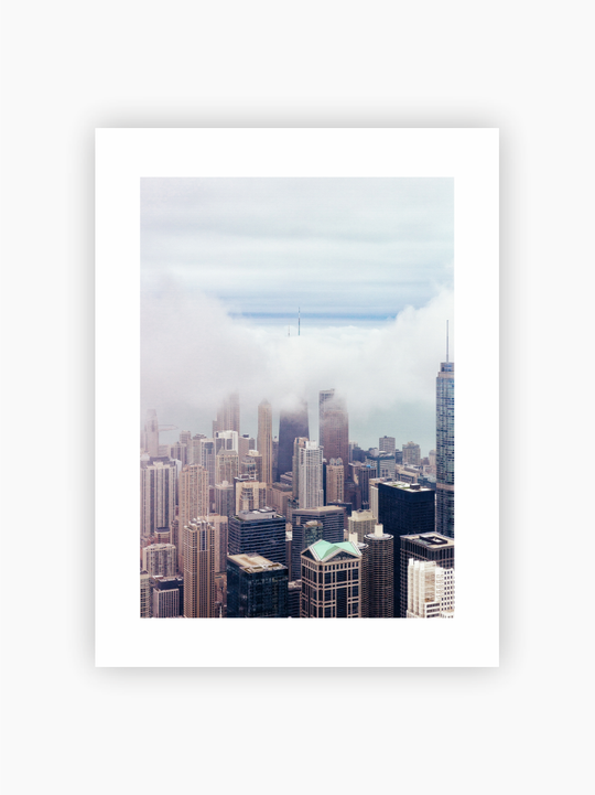 City Skyscrapers Poster