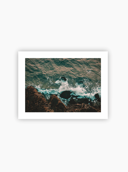 Coast From Above Poster