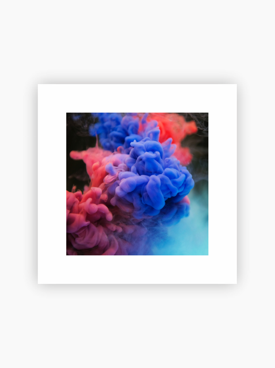 Colorful Smoke Poster