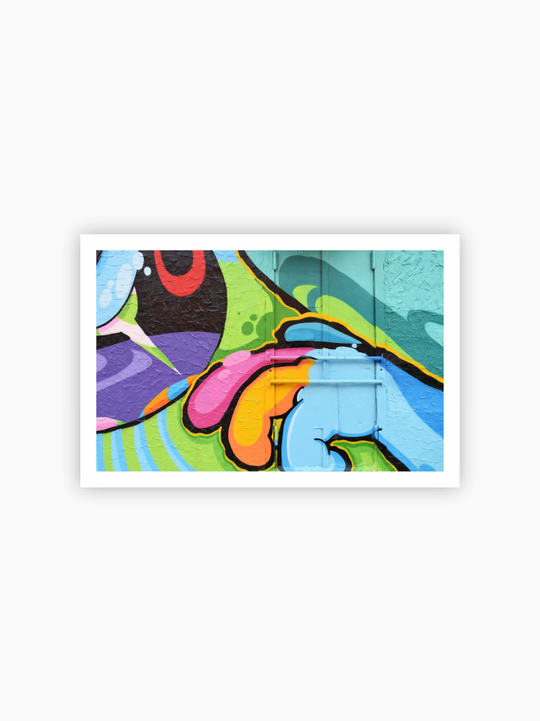 Graffiti Detail Poster