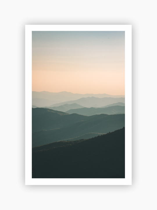Mountains Poster