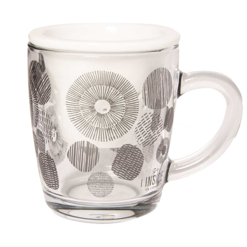 Taza Dots Black