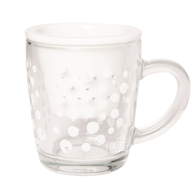 Taza Dots White