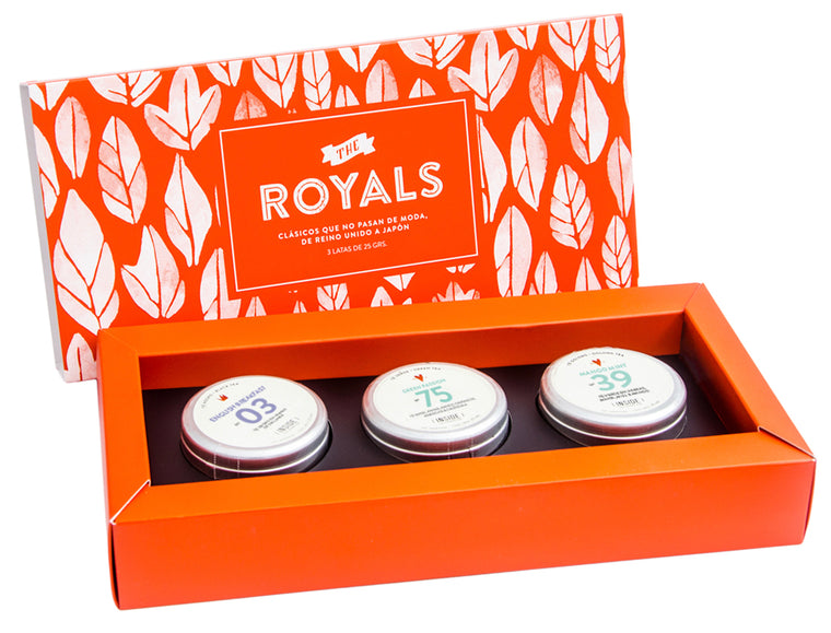 Box de 3: The Royals (Té en hebras)