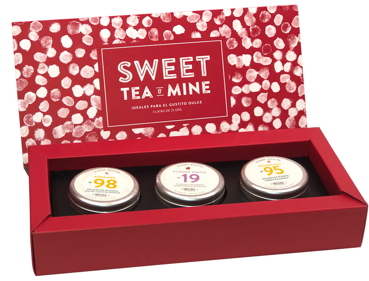 Box de 3: Sweet Tea O' Mine (Té en hebras)