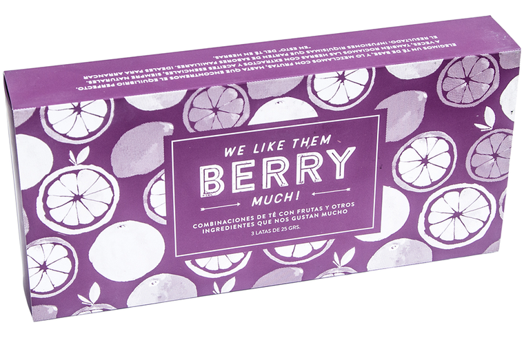 Box de 3: We Like Them Berry Much! (Té en hebras)