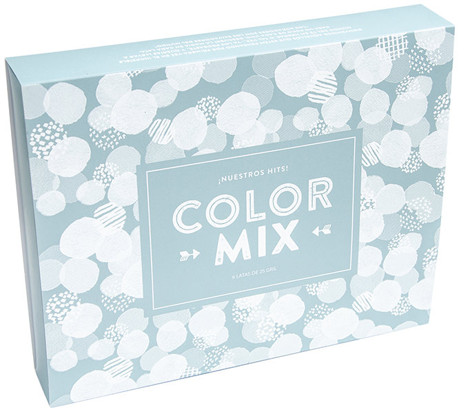 Box de 6: Color Mix