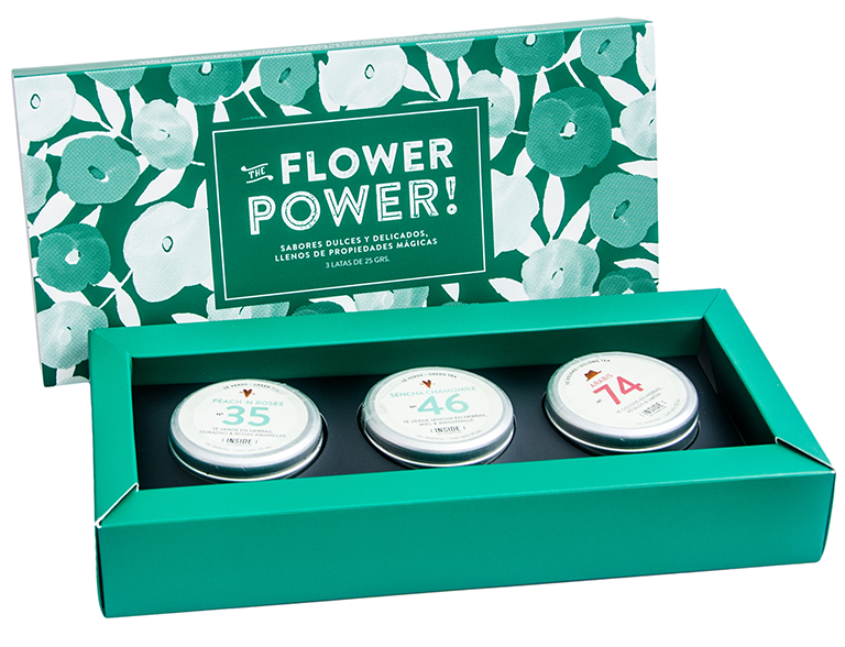 Box de 3: Flower Power