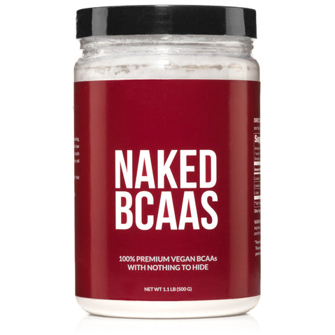 Branched Chain Amino Acids | Naked BCAAs - 100 Servings