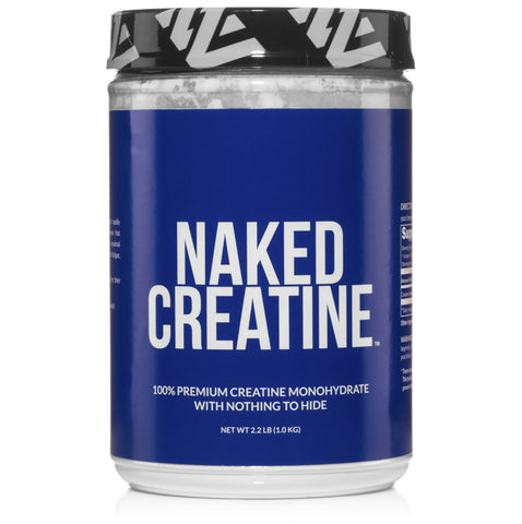 Creatine Monohydrate Powder | Naked Creatine - 1KG