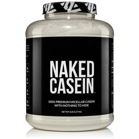 naked casein best casein protein powder