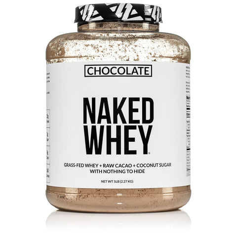 Chocolate Whey Protein Powder | Less Naked Chocolate Whey - 5LB
