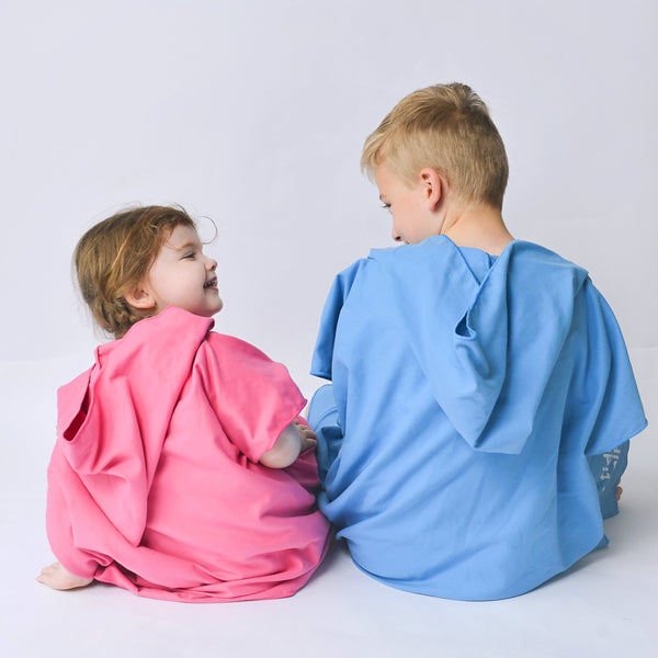 Kids Hooded Poncho Microfiber Towel 18 Months -5 yrs / 5-10 years