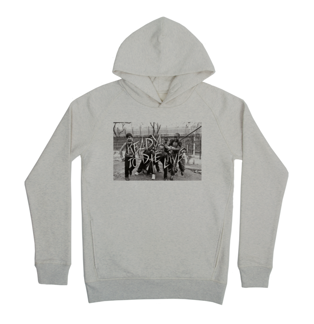 Ready to live Hoodie Taille XL Couleur Heathergrey