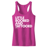 LITTLE BOOBED AND TATTOOED - WOMEN'S TANK TOP