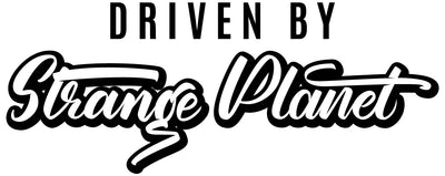 driven by Strange Planet banner for web