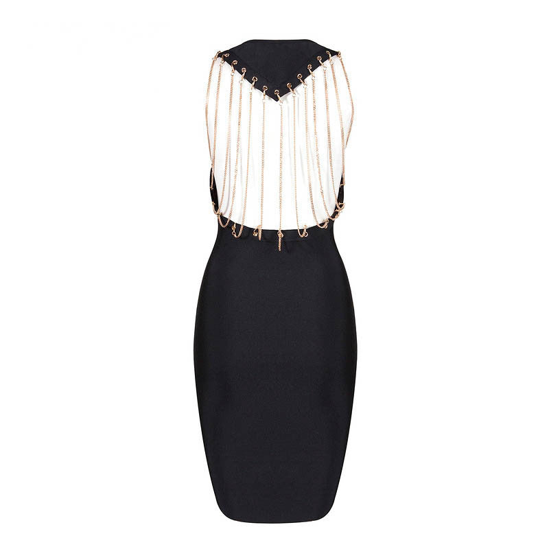 Our evening dresses consist of backless chain dresses fit for any lady.