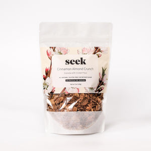 Seek Cricket Granola - Cinnamon Almond Crunch - Futurely