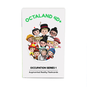 Octaland 4D+ Cards (Augmented Reality Flashcards)